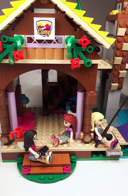 Lego friends adventure camp tree house instructions