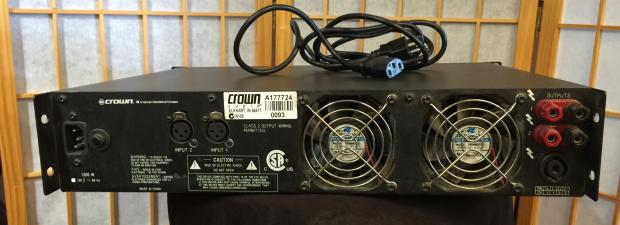 crown xls 402 power amp manual