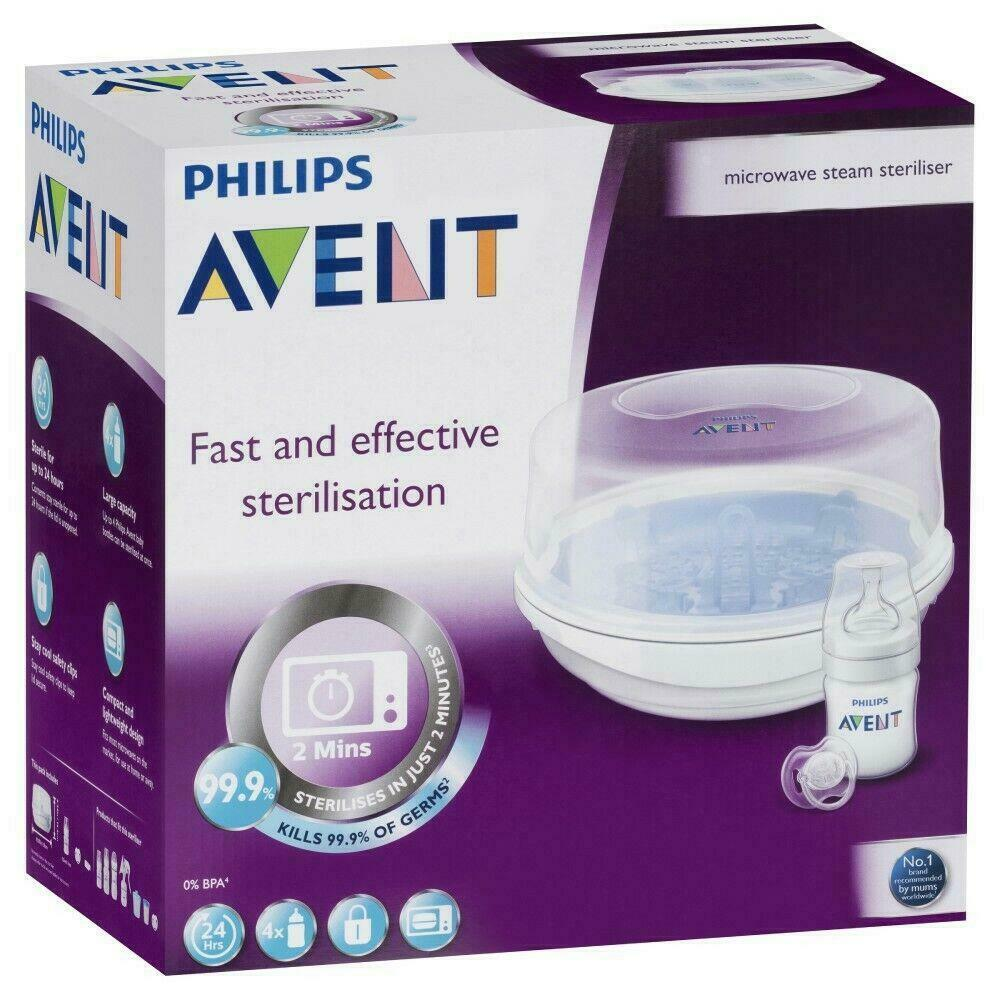 Avent express 2 microwave steriliser instructions