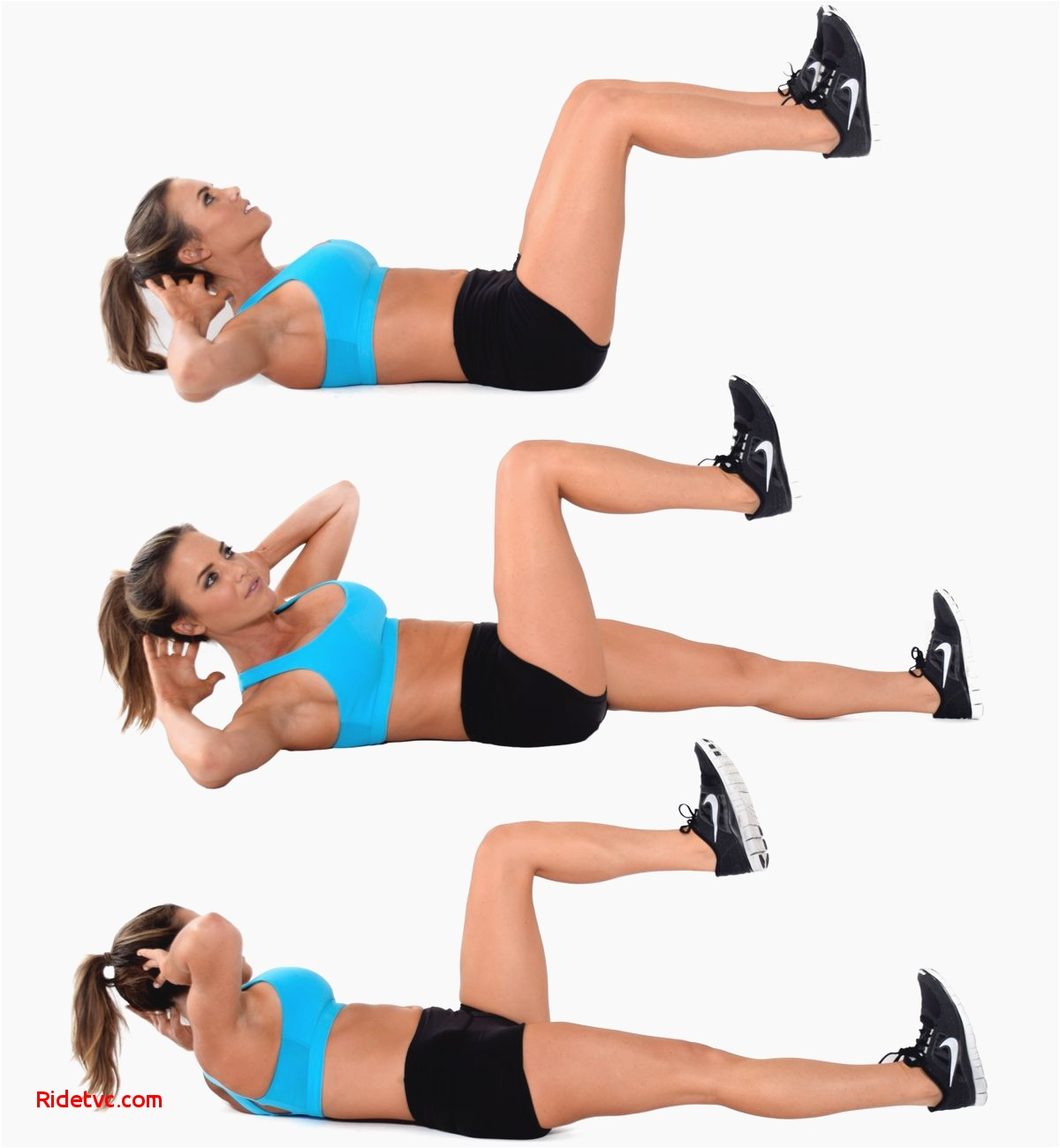 perfect ab crunch instructions