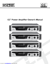 crest audio 10001 service manual